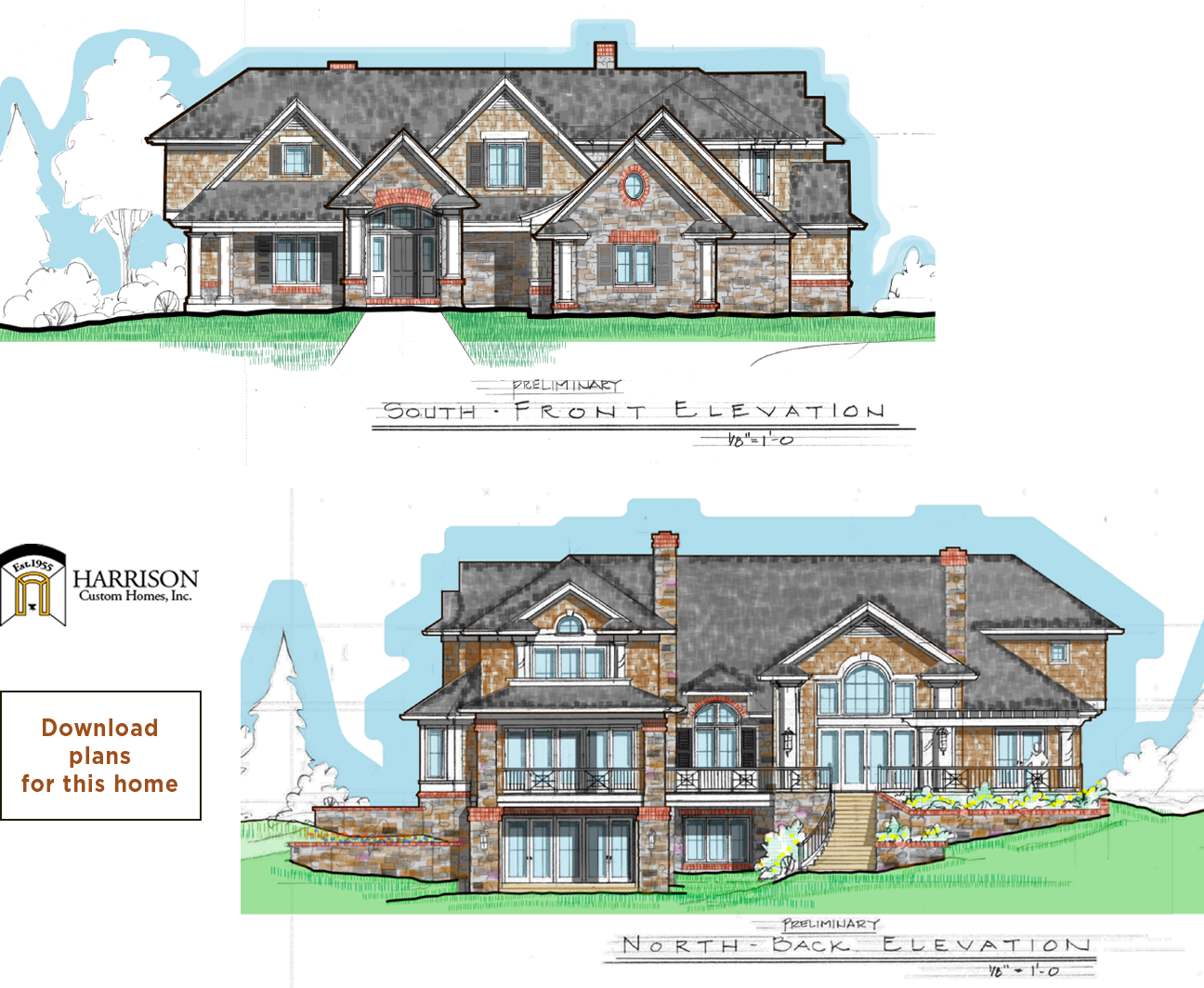 Harrison Custom Homes - Download Plans for this home